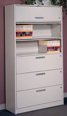 Enclosed File Shelving Provides Security On A Budget